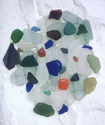 1kg Bag Of Mixed Coloured Sea Glass