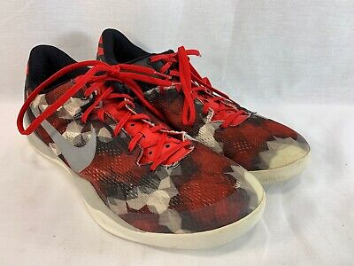 best service 49861 0e7b5 Nike Kobe 8 VIII System Milk Snake Sneakers Shoes Mens 11 HD3 Red White  Black