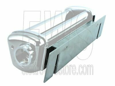 Stainless adapter old Imperia Restaurant Pasta machine with new Simplex cutters