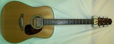 Takamine EF340S-TT Thermal Top Dreadnought Acoustic-Electric Guitar Factory 2nd