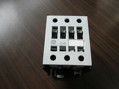 GE CL45A300M Contactor With 110-115 Volt Coil (TESTED) 60 Amp