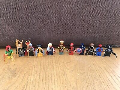 Marvel Avengers End Game 16pcs Minifigures Mini Figs Deadpool Thor Fits Lego
