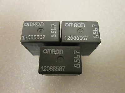 Omron 8567 GM Relé 12088567 (Cantidad 3))