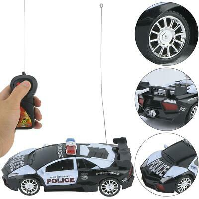 1:24 Electric Remote Control Police Car Model Kids Children Educational RC Toys