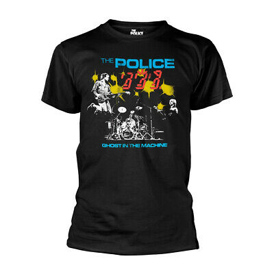 The Police Ghost in the Machine Live Sting oficial Camiseta para hombre
