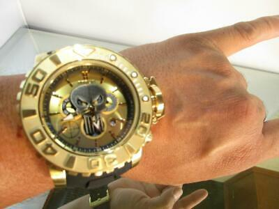 Invicta Sea Hunter Gen III 70mm Full Size Marvel Punisher 26788 Ltd Edition