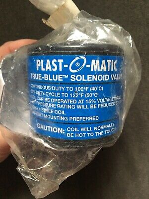 New PLAST-O-MATIC Watertight Coil Assembly 5429W-ASM-120/60 W20