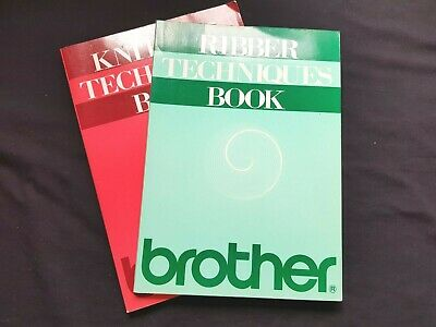 Bk239 Brother Knitting Machine Pattern Book Instruction Manual Ribber Techniques