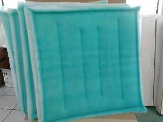 "20"" x 20"" Tacky Filter Count 20 Series 55 Intake Spray Paint Booth Dust Collect"