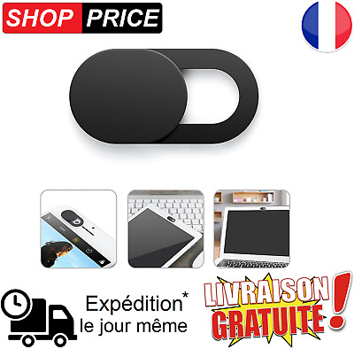 Cache webcam caméra protection privée anti espion smartphone ordinateur portable