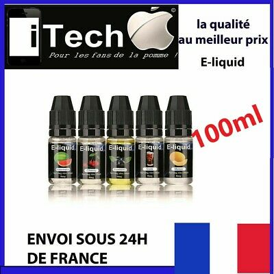 E liquide 100 ML -pour cigarette electronique -menthe -  fruits - FRANCE kit DIY