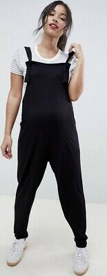 ASOS Maternity Dungaree Jersey Jumpsuit - Size 8