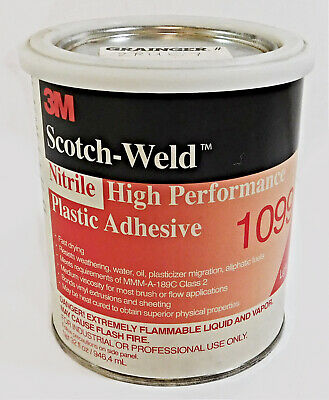 3M 1099 Tan 1 Quart Plastic Adhesive | Nitrile Rubber | 1 Can