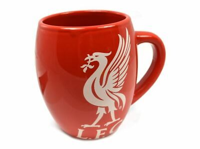 Liverpool FC LFC Tea Tub Mug Cup Coffee Ceramic In A Clear Gift Pack New Xmas