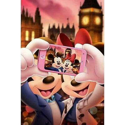 5D Diamond Painting Mickey and Minnie Mouse Selfie Kit