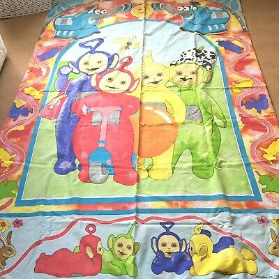 Teletubbies Vintage BBC Single Duvet Cover Retro Fabric Craft 1996 Ragdoll