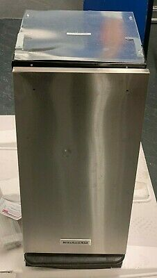 KitchenAid 1.4 Cu. Ft. Built-In Trash Compactor Stainless steel KTTS505ESS READ!
