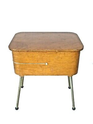 Vintage/Antique/Retro 1950's-60's Wooden Sewing Table, Ex Cond, No Reserve!