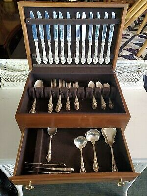 57 piece SET - Lunt Sterling Silver ELOQUENCE (incomplete set)