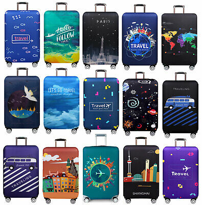 """Luggage Suitcases Thicker Dustproof 18""""-32"""" Trolley Case Travel Trunk Bag Covers"""