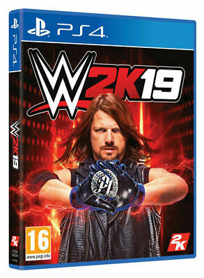 Wwe 2K19(Ps4 Playstation 4 Video Game) *New/Sealed* Free Tracked Uk P&P