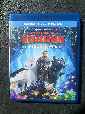 HOW TO TRAIN YOUR DRAGON 3:  THE HIDDEN WORLD (Blu-ray Disc & HD Code, 2019)