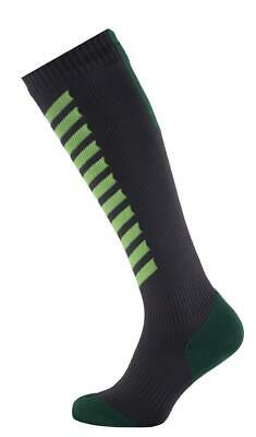 Seal Skinz MTB Mid Knee  Anthracite/Lime/Leaf  Socks (177121)
