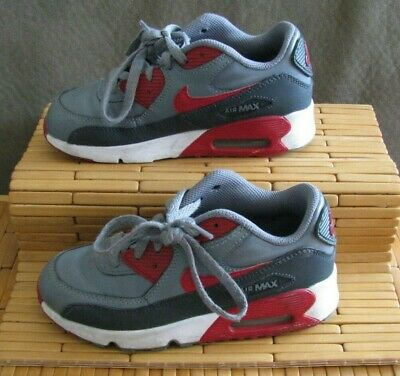 outlet store cd5ac 0ccde Nike Air Max 2016 Youth Boys   Girls Athletic Running Shoes Gray Red Size 1  Y