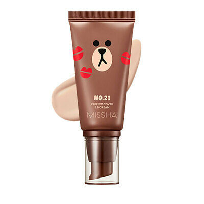 [MISSHA] M Perfect Cover Blemish Balm BB Cream SPF42PA+++ (LineFriends) - #21