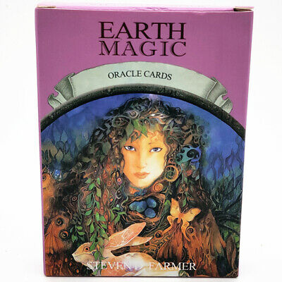 Earth Magic Oracle Card Wiccan Pagan Metaphysical 48 PCS Deck Card Gift For Fans