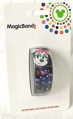 Disney Minnie Mouse Detail Is In The Dots Magicband 2 Polka Dot Magic Band 2 NEW