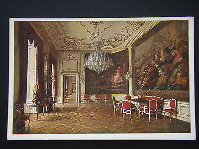 Old Imperial Castle Vienna Dining-Hall In The Stephan-Appartments Postcard