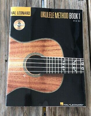 Hal Leonard Ukulele Method Book 1 By Lil' Rev CD Included Songbook PB Beginner