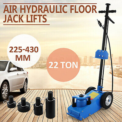 22 TON AIR/HYDRAULIC Floor Jack with 4 dies - Car Truck SUV Trolley