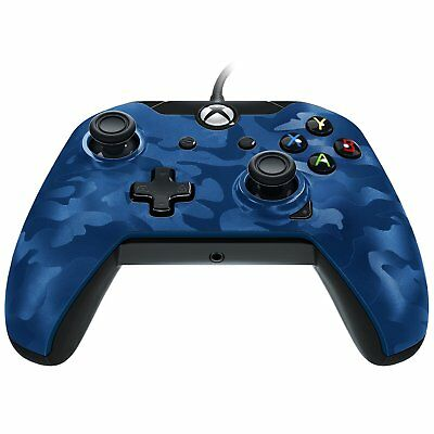 ACC XB1-PDP Wired Controller for Xbox One - Blue Camo