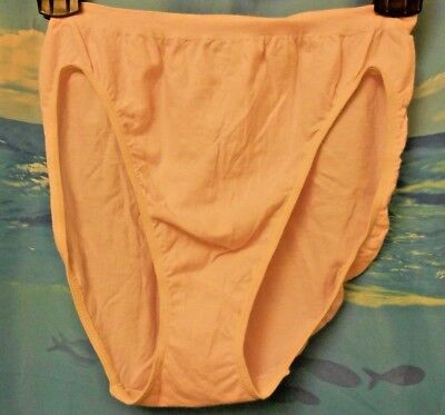 d75a97045f3f Nwt Jockey Comfies Cotton French Cut Panties 1361 Pale Pink Xl/8 Nwt