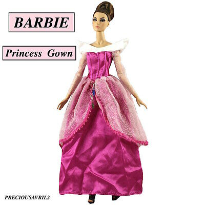 Brand new barbie doll princess clothes dress outfit wedding evening