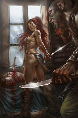 Red Sonja Birth Of She Devil #2 Parillo Virgin Cvr Pre-Orders For Midjuly