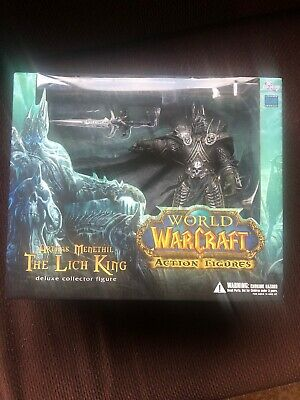World Of Warcraft Wow Deluxe Collector Figure The Lich King