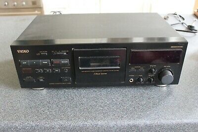 TEAC V-1050 Three Head Stereo Cassette Deck Tape Player with Dolby B & C
