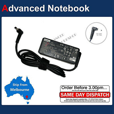 45W Laptop Charger Adapter For Lenovo Ideapad 100S-14IBR 80R9 110-15ACL