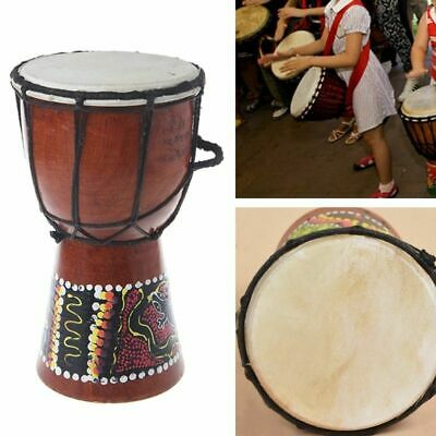 Professional African Djembe Drum Good Sound Wood Made Musical Instrument 4 Inch