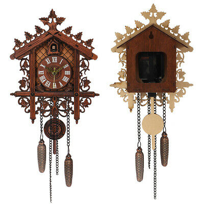 Modern Clock New Europea home decor vintage large House clock wall art Cuckoo