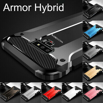 For Samsung Note 10 Plus 9 8 S8 S9 S10 Shockproof Armor Hybrid Rugged Case Cover