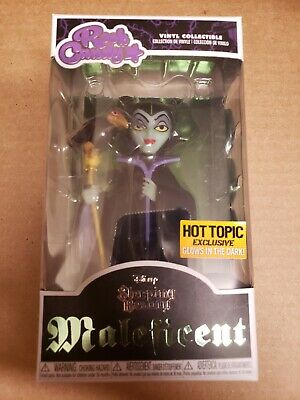 Funko Pop Maleficent Glow Rock Candy Hot Topic exclusive