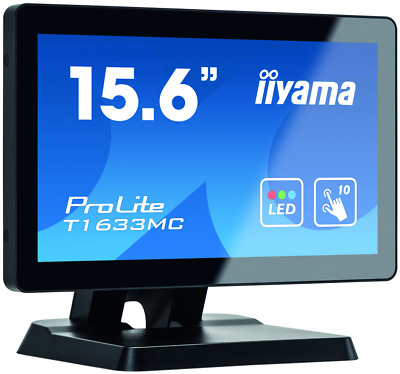 "T1633MC-B1 Iiyama ProLite T1633MC-B1 - LED monitor - 15.6"" - touchscreen - 1366"