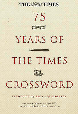 75 Years of 'The Times' Crossword, , Very Good Book