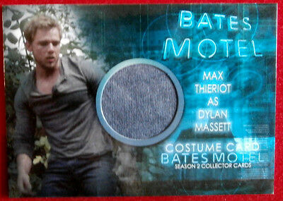 BATES MOTEL (Season Two) - MAX THIERIOT, Dylan Massett - Costume Card - CMT1