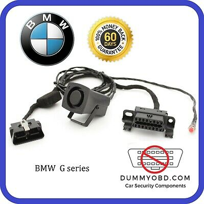 BMW G - Series dummy OBD2 Port DUMMY OBD ALARM SIREN Anti Theft Security