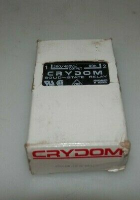 New Crydom A4890 Solid State Relay 280/480V Output 90-280V Input 90A